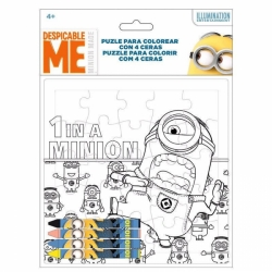 MINIONS VYBARVI SI PUZZLE